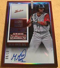 2015 Panini Contenders Passports Insert #14 Manuel Margot Red Sox