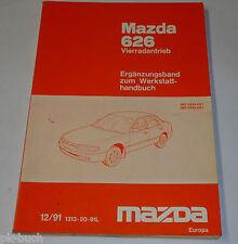Werkstatthandbuch Mazda 626 Allrad Typ MS6 / GE Motor Bremsen Getriebe, 12/1991