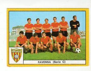 FIGURINA    CALCIATORI    EDIS    1969-70    SQUADRA   DEL   RAVENNA