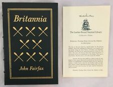 Easton Press Leather Britannia Rowing Alone Across the Atlantic John Fairfax