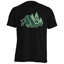 Lass Campingzelt Waldbrand Herren T-Shirt/Tank Top gg897m
