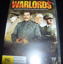 Warlords The Untold Stories Of The Second World War (Aust R 4) DVD - Like New
