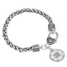 Ultimate Love Talisman Pentacle Seal Solomon Kabbalah Hermetic Chain Bracelet