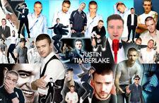 JUSTIN TIMBERLAKE Collage Poster