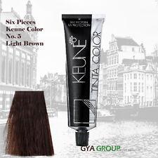 Keune Tinta Hair Color Silk Protein, UV Protection No. 5 Light Brown. 6 Pieces