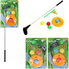 2x Kinder Golfset mit 3 Bällen 59 cm Golfschläger Minigolf Bürogolf Kindergolf