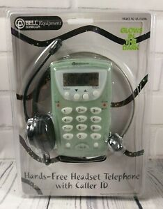 Bell Sonecor Hands Free Glow in the Dark Headset Telephone DS-150MG w Caller ID