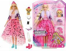 Barbie - Princess Adventure Deluxe Doll Includes Puppy & Fashion Accessories
