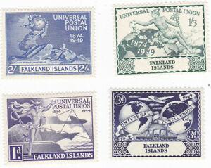 FALKLAND ISLANDS Scott # 103 - 106 the UPU set MINT LH VF