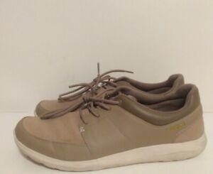 Crocs Kinsale (203052) Mens Size 13 Beige White Lace-up Casual Shoes
