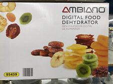 New Ambiano Digital Food Dehydrator 350 W