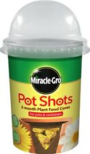 Miracle Gro Pot Shots Plant Food Cones Tablets For Hanging Baskets & Containers