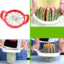 New Cool Stainless Slice Cutter Fruit Watermelon Melon Fast Steel Tool Kitchen