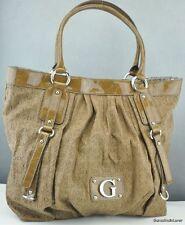 Neu Tasche Handtasche GUESS Blondie Totes Cognag Damen DEU