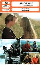 FICHE CINEMA : PRINCESS BRIDE - Elwes,Patinkin,Wright,Falk,Reiner 1987