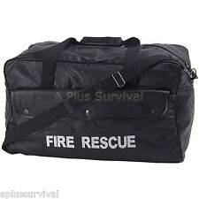 Leather Fire Rescue Bag Tactical Tote Bag for Survival Kits Tools Hunting