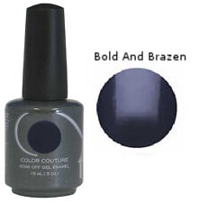 Entity 1 One Color Couture Soak Off Gel Polish  ~ BOLD AND BRAZEN ~ .5oz