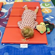 4-Fold Daycare Nap Mat Rest Sleeping Floor Play Foam 2 Inch for Kids Children