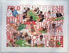 WORLD SERIES OF POKER PLAYING POKER GAMBLING LINGO LITHOGRAPH SIGNED NUMBERED