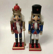 christmas Nutcrackers Set Of Three 10.1/2In brand new