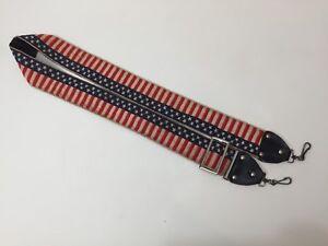 Vintage Camera Belt the Star-Spangled Banner Design