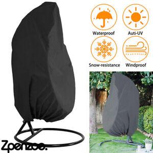 Hanging Swing Egg Chair Cover Garden Patio Rattan Chair Outdoor Rain Protector