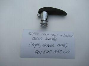 Porsche 911/912 Door Vent Window Catch Handle LEFT 90154256300 C#107