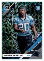 2019 Optic Green Velocity Jordan Scarlett Rated Rookie RC Prizm Holo Panthers