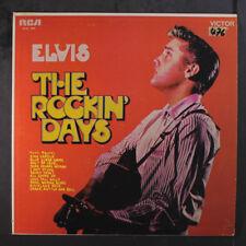 ELVIS PRESLEY: The Rockin' Days LP (Venezuela, toc, tol) Oldies