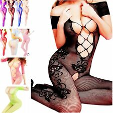 Nightwear Women New Bodystocking Body Stocking Chemise Fishnet Lingerie Bodysuit
