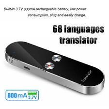 Smart Instant 2 Way Real Time Voice Translator 68 Language Translator 800mA 3.7V