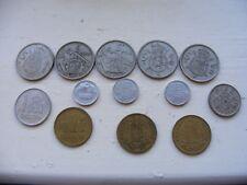 Monedas españolas X 13 - 1, 5 y 10 Pesetas Varios Años