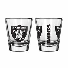 Oakland Raiders Game Day Logo Shot Glass NEW