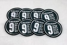 Cruzan 9 Spiced Rum Embroidered Patchs Lot of 8