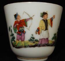 Tasse en Porcelaine XIXème / décor CHINE Chinese Cup (Old)
