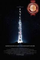 NEW INTERSTELLAR STARS BACKGROUND MOVIE ORIGINAL CINEMA PRINT PREMIUM POSTER
