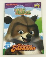 Over the Hedge Suburban Invasion Coloring Activity Book Stickers Scholastic