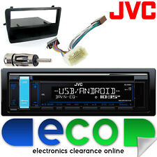 Honda Civic EP1 JVC CD MP3 USB Aux Ipod Car Stereo Radio Black Facia Fitting Kit
