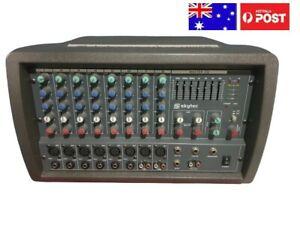 SKYTEC SKU172592 POWERED MIXER, 8 CHANNEL.MASTER EQ PH48V. 2X150W