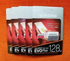 Samsung Evo Plus 128GB MicroSDXC UHS-1 U3 Class 10 Micro SD Memory Card + Adapte