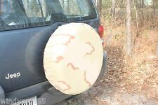 SPARE WHEEL COVERS DESERT CAMOFLAGE NEW ARMY ISSUE
