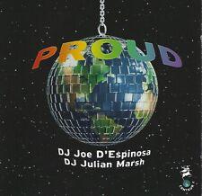 1999 Dance House Cd: Various Artists - Proud (Centaur) 2 Cds / Julian Marsh & Jo