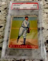 1933 Goudey #157 Sam Byrd PSA 2