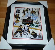 PSA/DNA 17 SECONDS DAVE BOLLAND-BRYAN BICKELL 11X14 AUTOGRAPHED-SIGNED PHOTO