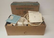 Morphy Richards Noiseless Electric Hairdryer HDA2 1962 (vintage)R