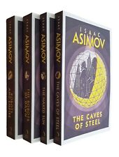 Robot Series 4 Books Isaac Asimov R. Daneel Olivaw SF Saga Collection Set New