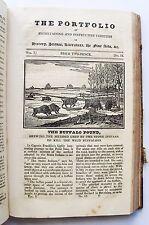 1823 THE PORTFOLIO OF ENTERTAINING AND INSTRUCTIVE VARIETIES Vol 1 Duncombe VGC