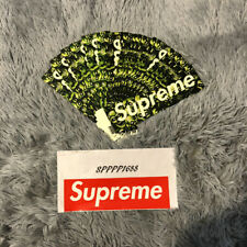 SUPREME SKULL PILE SS18 GLOW IN THE DARK  STICKER 100% Authentic  in hand