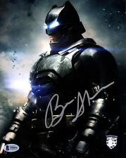 "BEN AFFLECK Signed Autograph ""BATMAN v SUPERMAN"" 8X10 Photo Official Pix & BAS"
