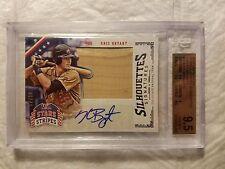 2015 USA Baseball Stars and Stripes Silhouettes Signature Bats #56 Kris Bryant